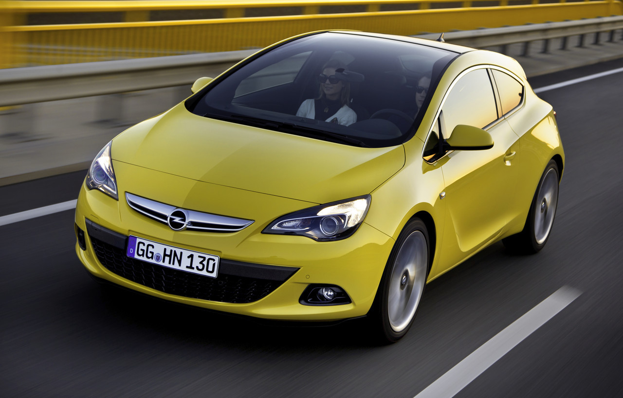 Foto de Opel Astra GTC (1/90)