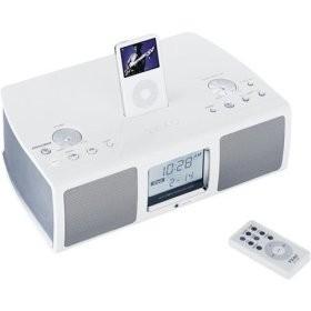 Altavoces con función de radio despertador