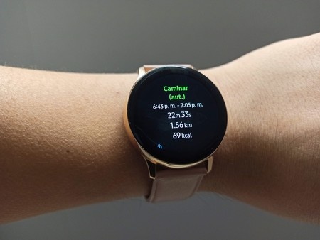 Samsung Galaxy Watch Active 2 Analisis Mexico Deteccion Automatica Actividad Fisica