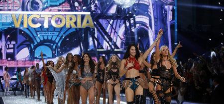Y así de lozanas lucieron los ángeles de Victoria's Secret