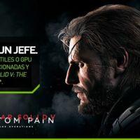 Ya no más Batman, NVIDIA lanza promoción 'Juega como un Jefe' con Metal Gear Solid V