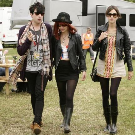 Alexa Chung, la reina del festival de Glastonbury