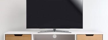 En eBay tenemos este mueble para la televisión estilo nórdico por 89,99 euros y envío gratis