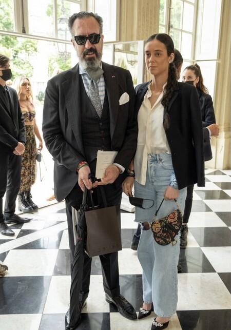 Jaime de Marichalar junto a su hija