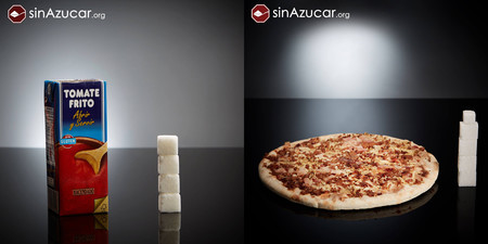 Estos son todos los terrones de azúcar que ingieres cada vez que tomas tomate frito o una pizza