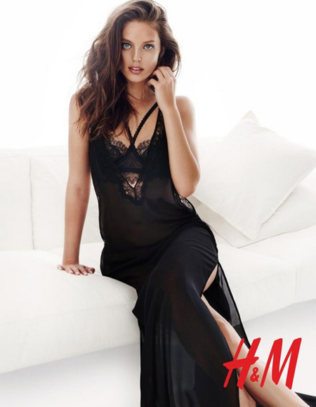 Hm Valentines Day 2015 Lingerie Emily Didonato Hasse Nielsen 4