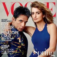Ben Stiller vestido de Rey Mago portada del Vogue USA junto a nuestra Pe inmortalizados por Annie Leibovitz