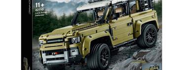 ¡Filtrado! LEGO Technic nos muestra al nuevo Land Rover Defender sin camuflaje