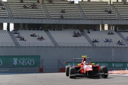 Patric Niederhauser GP3 2014 Abu Dabi