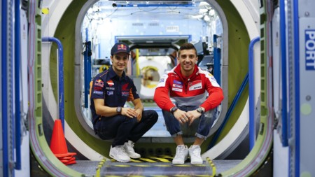 Dani Pedrosa Andrea Iannone Nasa 2