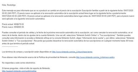 Nintendo Subida Precios Mexico