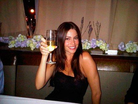 Sofia Vergara celebrando la llegada del año 2011, la imagen de la semana