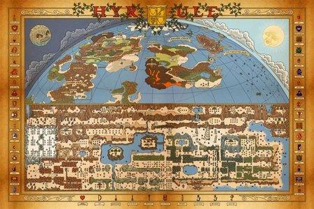 Imagen de la semana: excelente mapa del primer 'Zelda'