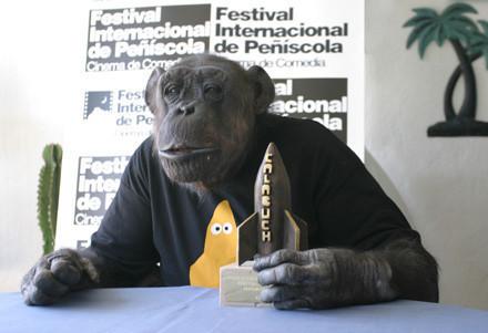 Chita recibió su premio