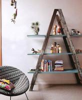 ¿Buena o mala idea? Convertir una escalera en estanteria
