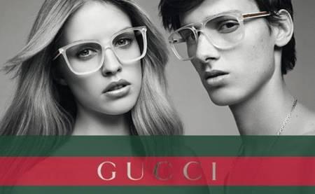 Gucci Eyewear Spring 2012. El blanco y negro de David Vasiljevic