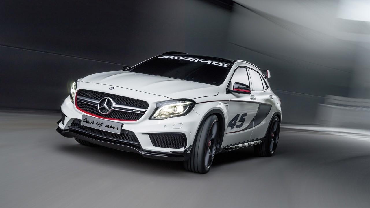 Foto de Mercedes-Benz GLA 45 AMG Concept (filtración) (1/11)