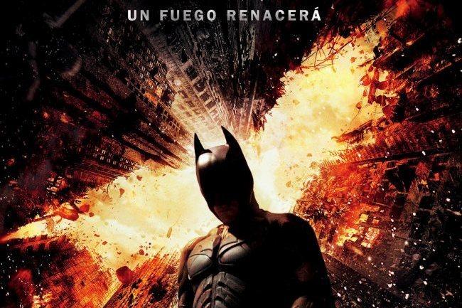 Imagen del póster de El Caballero Oscuro: La Leyenda Renace (The Dark Knight Rises)