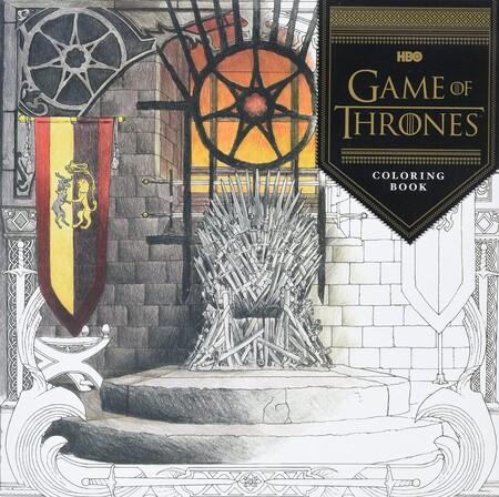 juego de tronos libro para colorear