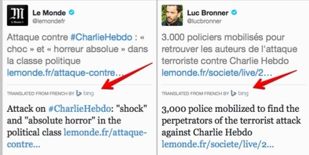Twitter volverá a usar Bing Translator en la función de traducción de TweetDeck
