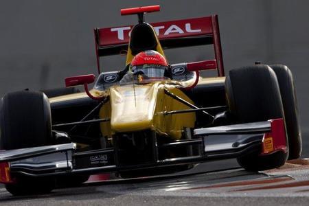 Romain Grosjean ha sido el más rápido en el primer día de las pruebas de la GP2 en Abu Dhabi