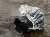 Protección contra la lluvia: un gorro de baño