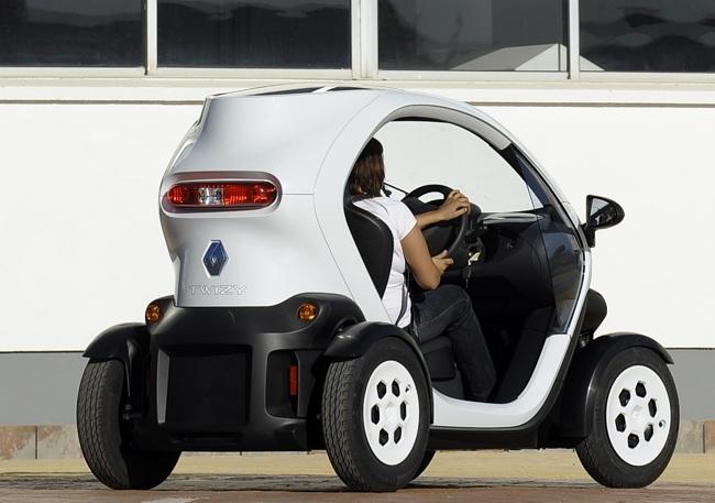 Renault Twizy Urban 45 blanco
