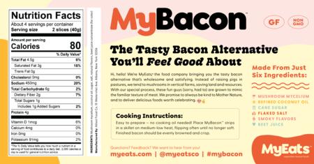 Etiqueta Mybacon