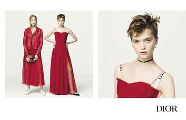 La primera campaña de Maria Grazia Chiuri (y la de una mujer) al frente de Dior