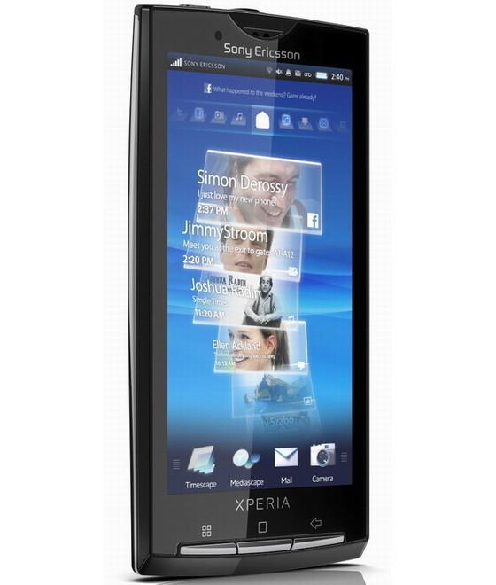 Foto de Sony Ericsson Xperia X10, diferentes medios (4/15)