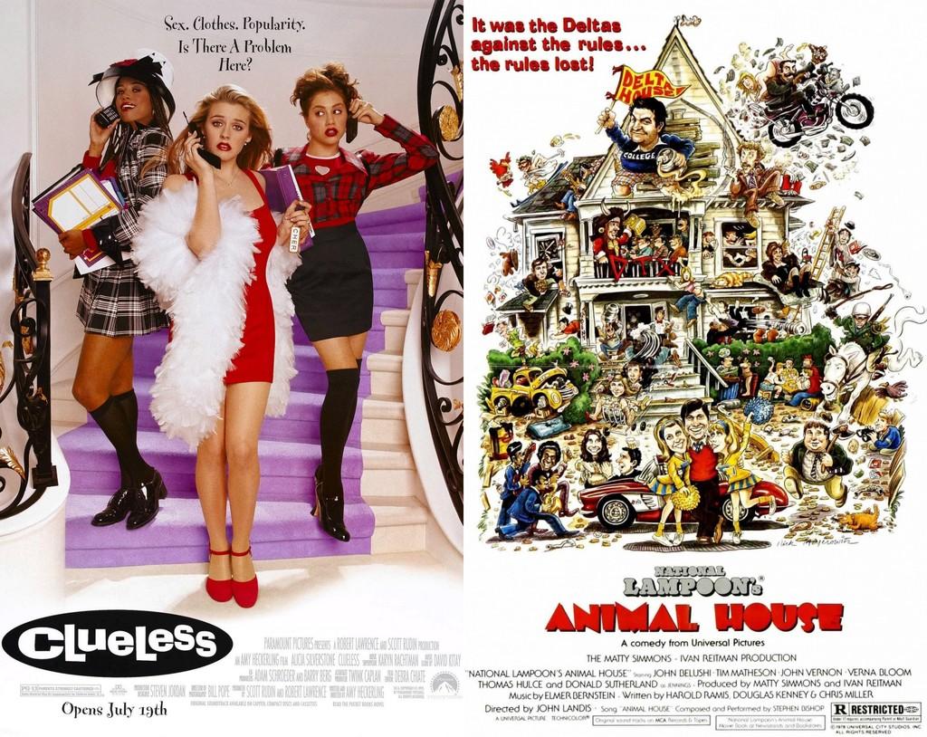 Clueless y Animal House