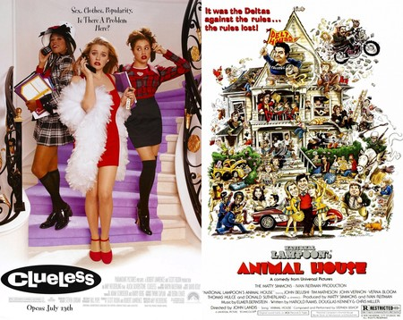 Clueless y Animal House