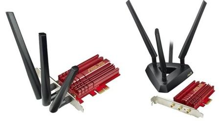 Asus presenta su nueva tarjeta PCI-Express compatible con 802.11ac
