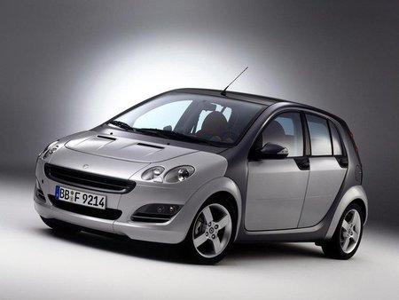 Reemplazo en 2012 para el smart forfour