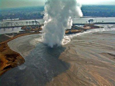 Ya sabemos cómo se produjo la mayor erupción de lodo de la historia