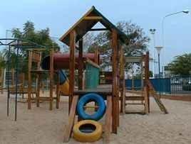 Cuidado con los parques infantiles