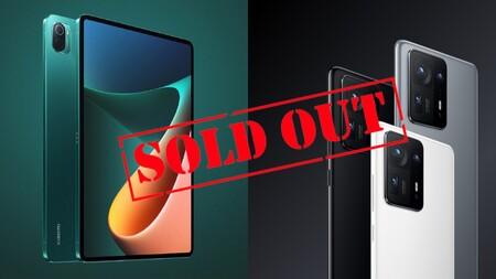El Xiaomi Mix 4 y la Mi Pad 5 se agotan el día de su lanzamiento en China: son casi imposibles de conseguir