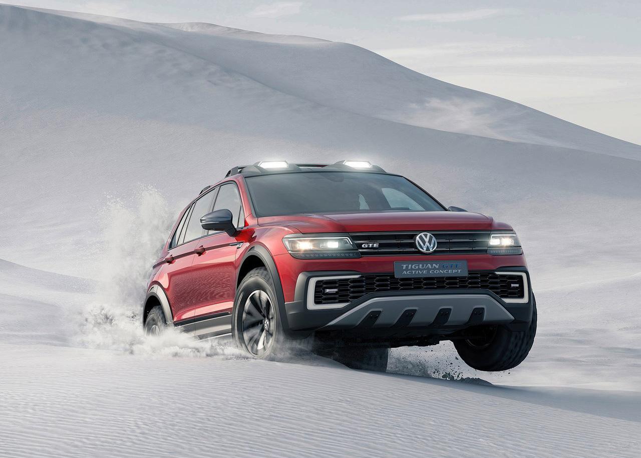 Foto de Volkswagen Tiguan GTE Active Concept (11/17)