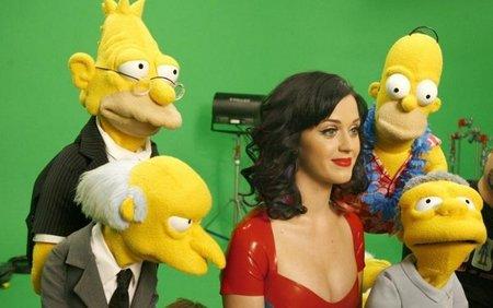 Katy Perry en 'Los Simpson', imagen de la semana