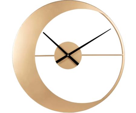 Reloj De Metal Dorado 55 Cm Moon