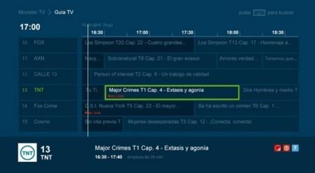 Grabaciones Movistar TV