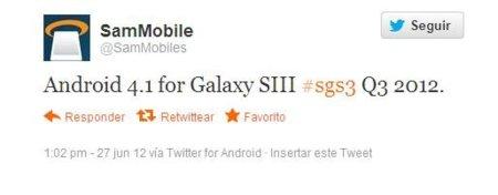 Actualización Galaxy SIII