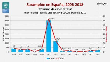 Sarampion En Espana