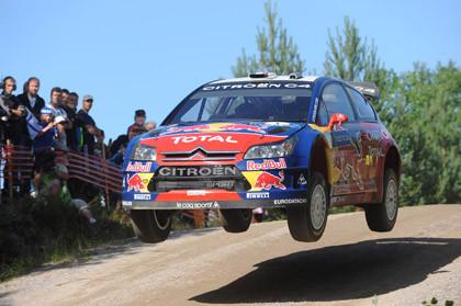 Loeb aguanta los ataques de Hirvonen en Finlandia