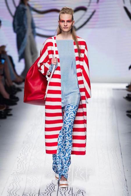 El estilo clásico marinero en la colección de Primavera/Verano 2016 de Max Mara