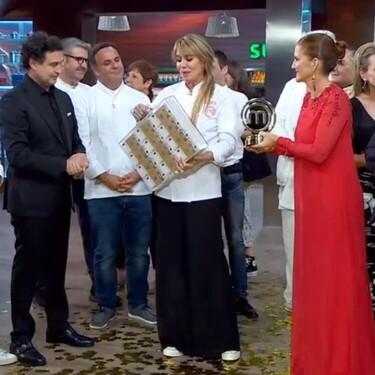 Raquel Meroño gana MasterChef Celebrity, entre 12 estrellas Michelin y con un menú sin errores