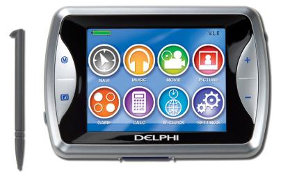 Delphi Nav200, compacto y multimedia