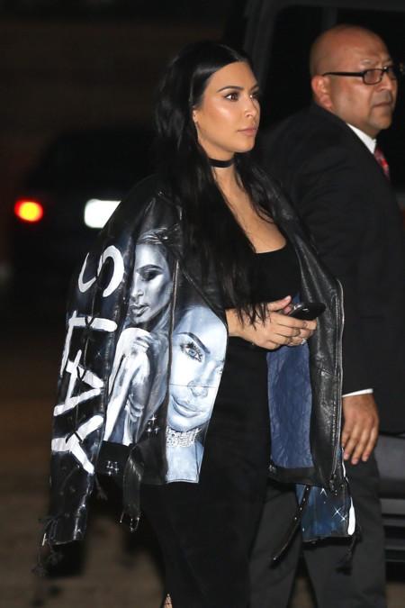 El día en Kim Kardashian se vistió con Kim Kardashian