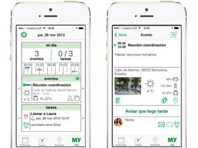 Mysistant, la agenda global para tener todo al alcance de tus dedos en el iPhone