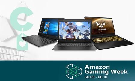 Antes de que acabe la Gaming Week de Amazon, puedes aprovechar para hacerte con un portátil HP, ASUS, MSI o Medion a precio rebajado